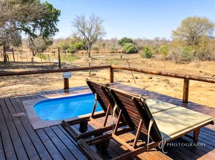 River Lodge private pool