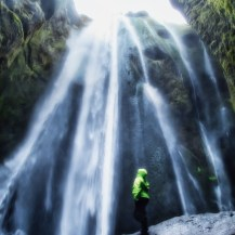 me and waterfall iceland 1