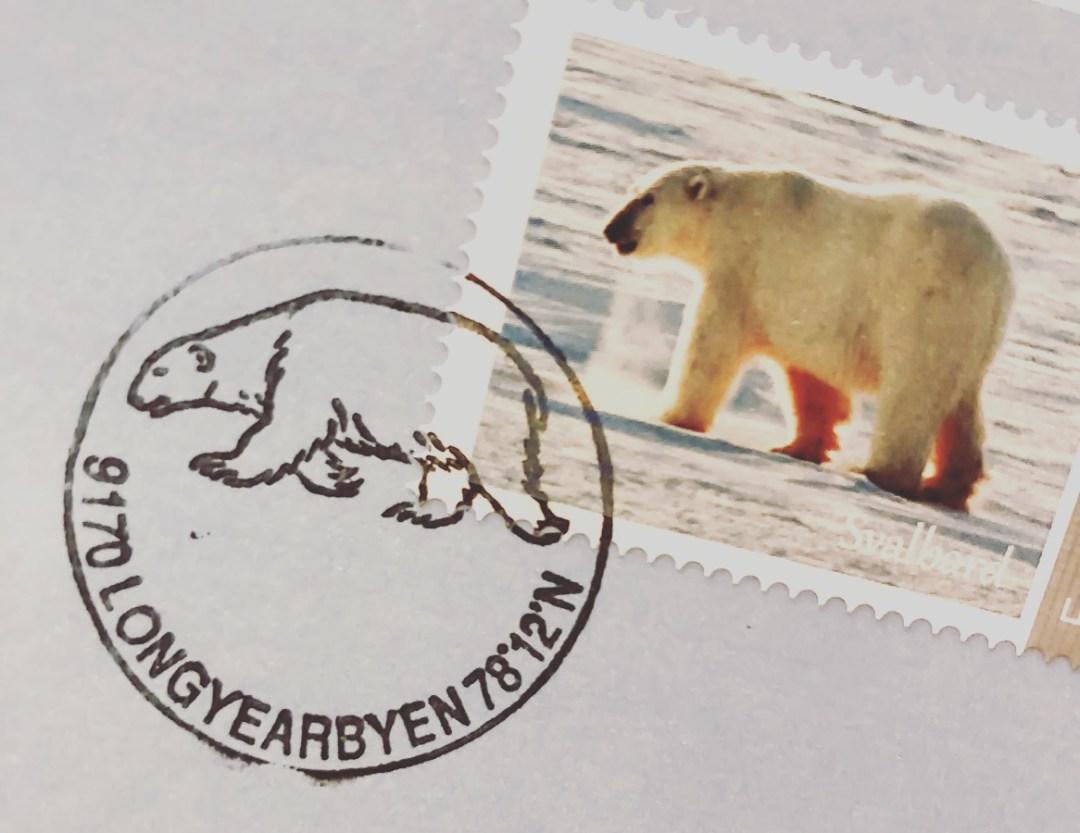svalbard stamp