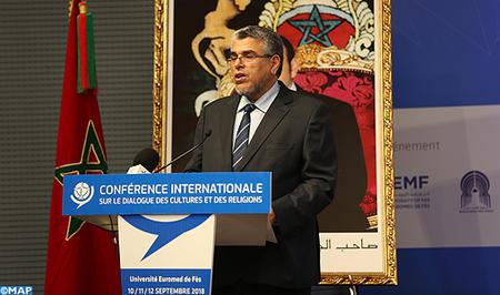 SM le Roi adresse un message aux participants à la 2ème Conférence internationale sur le dialogue des cultures et des religions