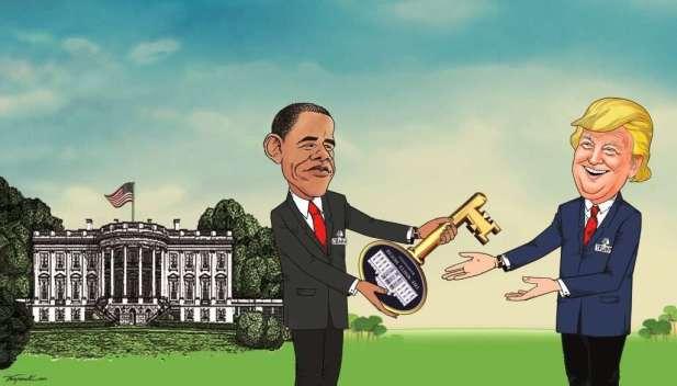 03 Trumpi merr Celesin nga Obama