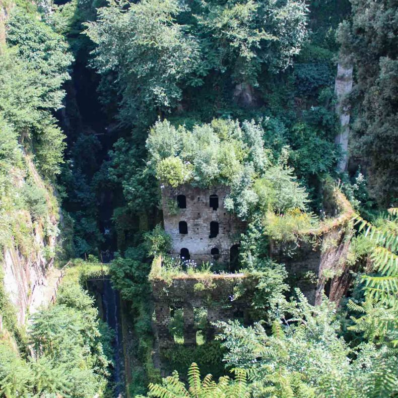 Vallone dei Mulini, Sorrento, Amalfikust - Map of Joy