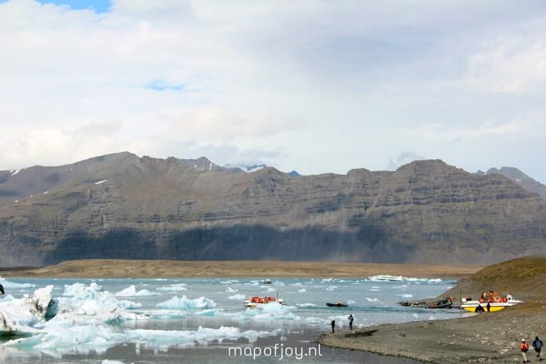 Jökulsárlón, Iceland, travel report - Map of Joy