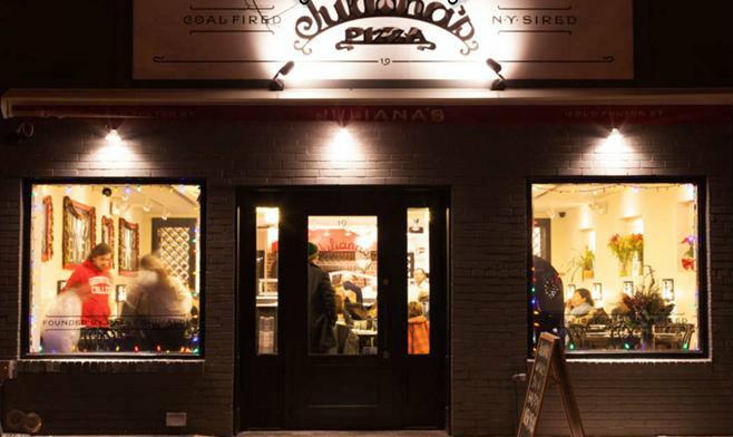 Juliana's Pizza, hotspot DUMBO New York - Map of Joy