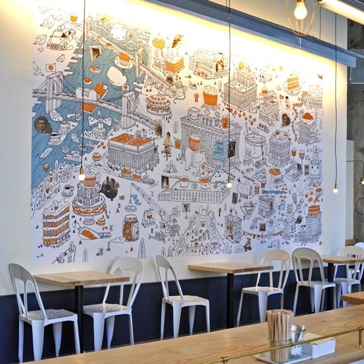 One Girl Cookies. hotspot in DUMBO, New York - Map of Joy