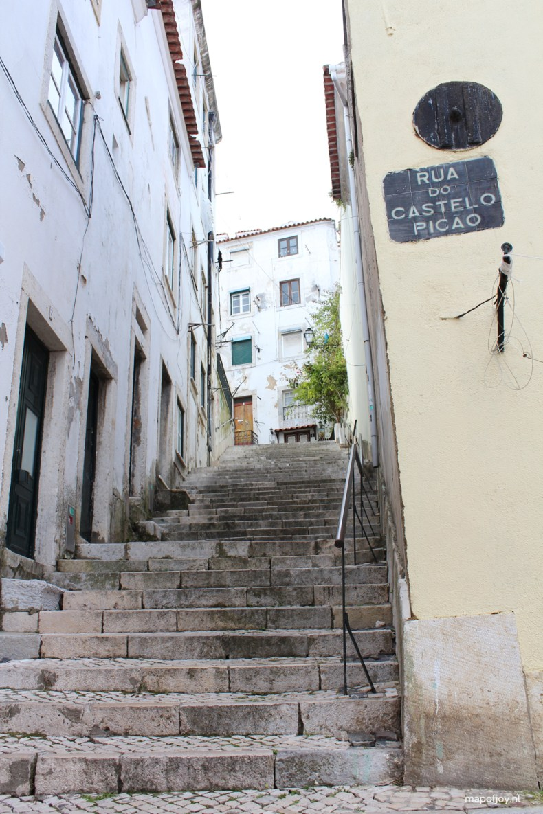 Alfama, Lisbon - Map of Joy