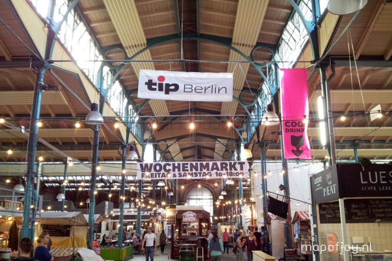 Markthalle Neun, hotspot Berlin - Map of Joy
