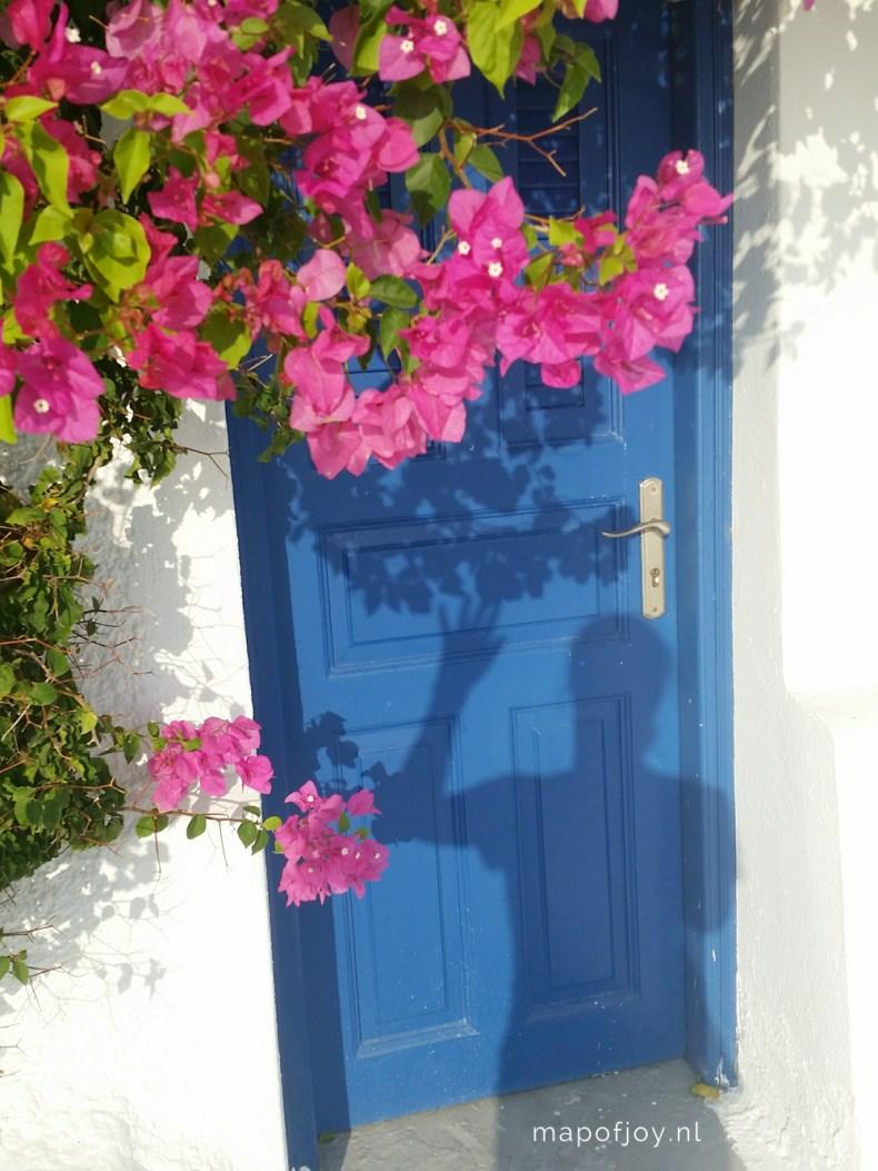 Fira, Santorini, Greece - Map of Joy