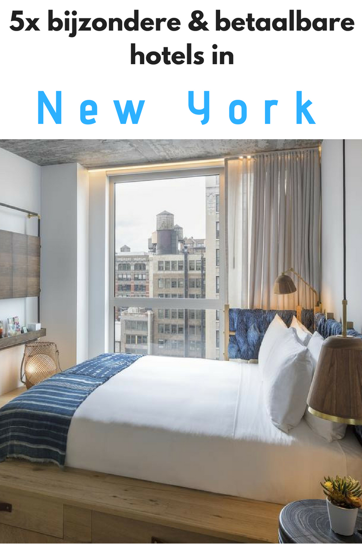 5x bijzondere en betaalbare accommodaties in New York - Map of Joy