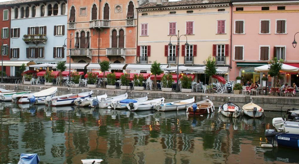 Desenzano, Lago di Garda, Italy - Map of Joy