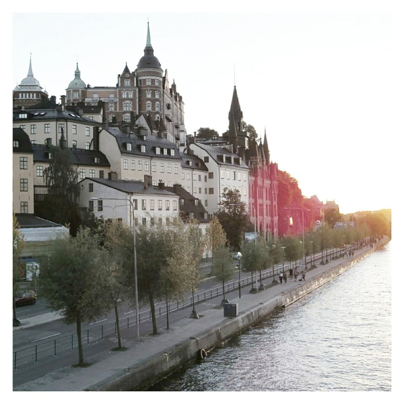 Travel report Stockholm - Map of Joy