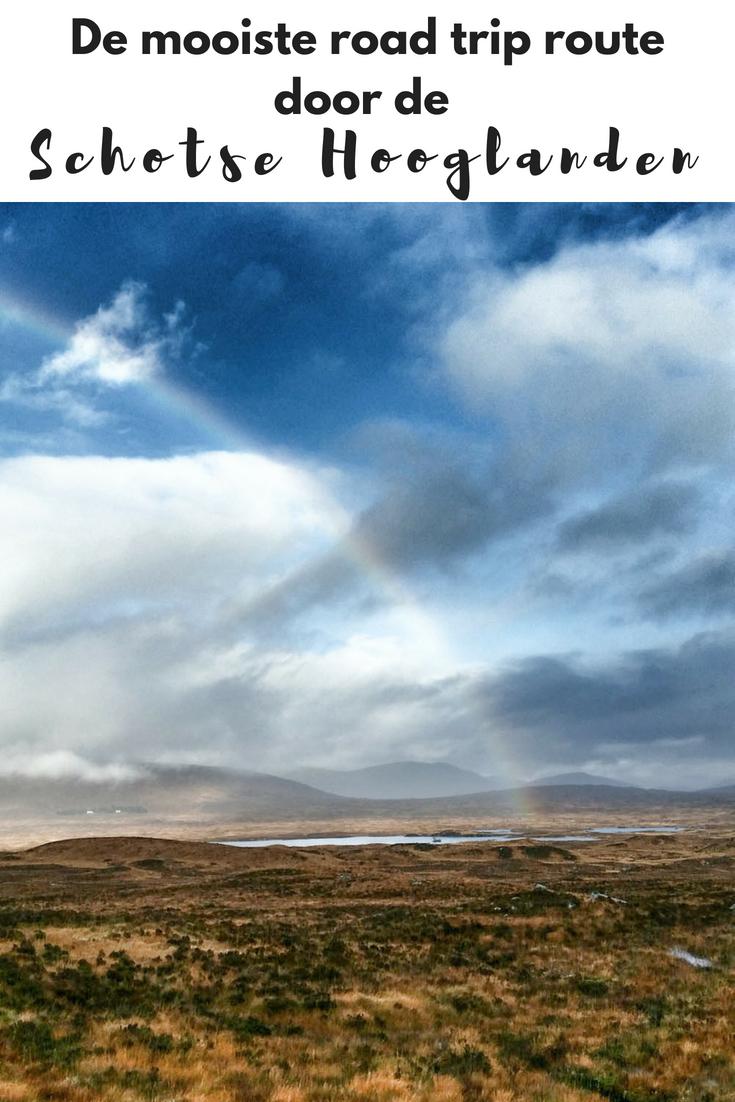 De mooiste roadtrip route door de Schotse Hooglanden - Map of Joy
