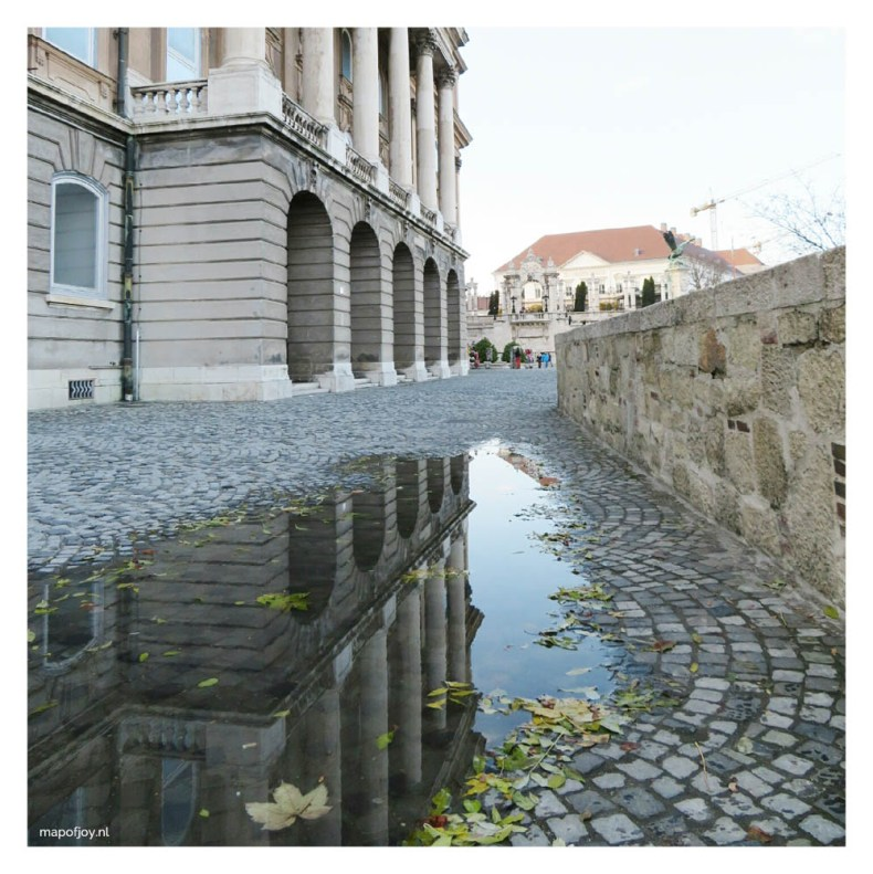 Royal Palace in Budapest - Map of Joy