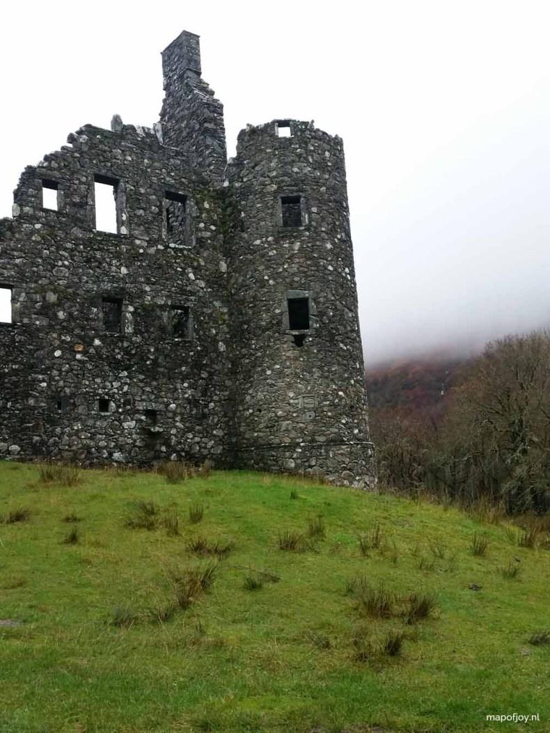 Killchurn Castle, Highlands Scotland - Map of Joy