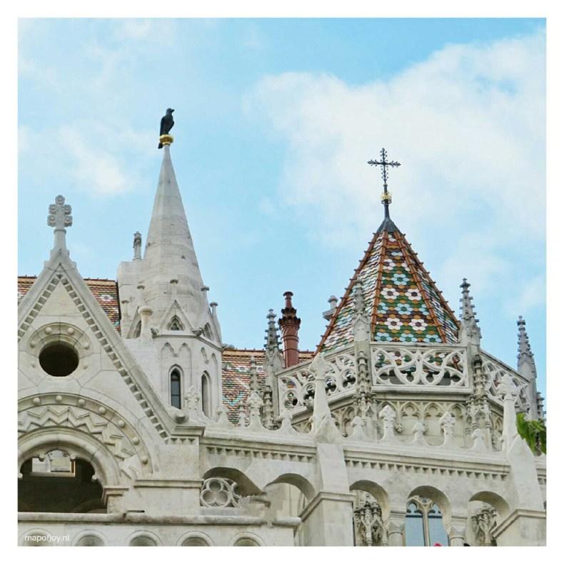 Matthias Church in Budapest - Map of Joy