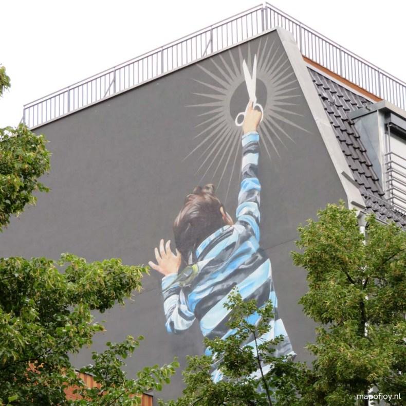 Street art Kreuzberg, Berlin, 5x leukste wijken in Berlijn - Map of Joy