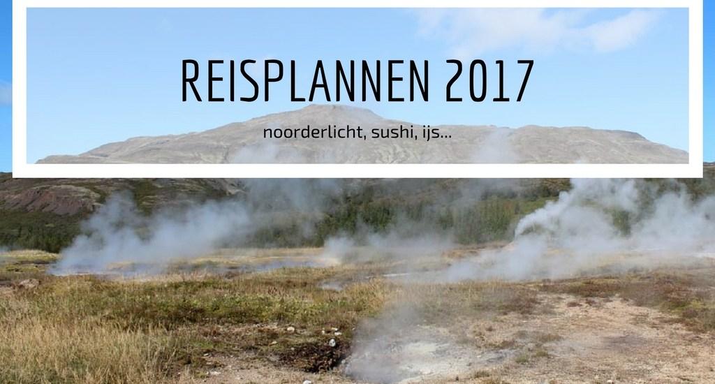 Reisplannen 2017 - Map of Joy