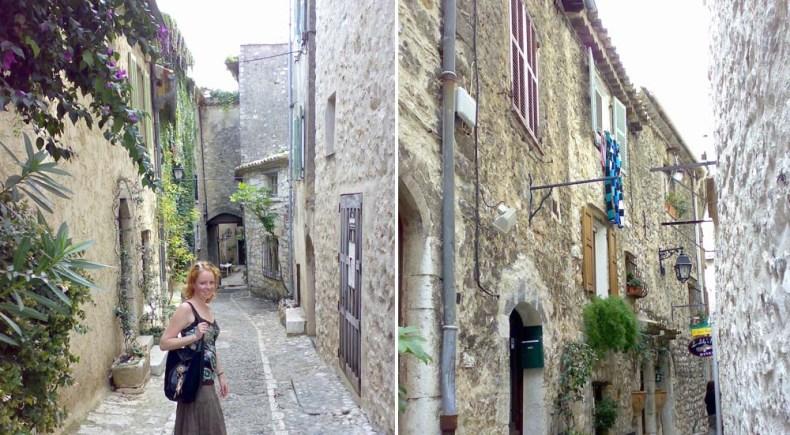 Saint-Paul de Vence, Zuid-Frankrijk - Map of Joy
