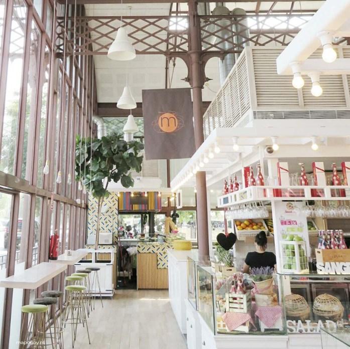 Mercado Barranco food hotspot Sevilla - Map of Joy