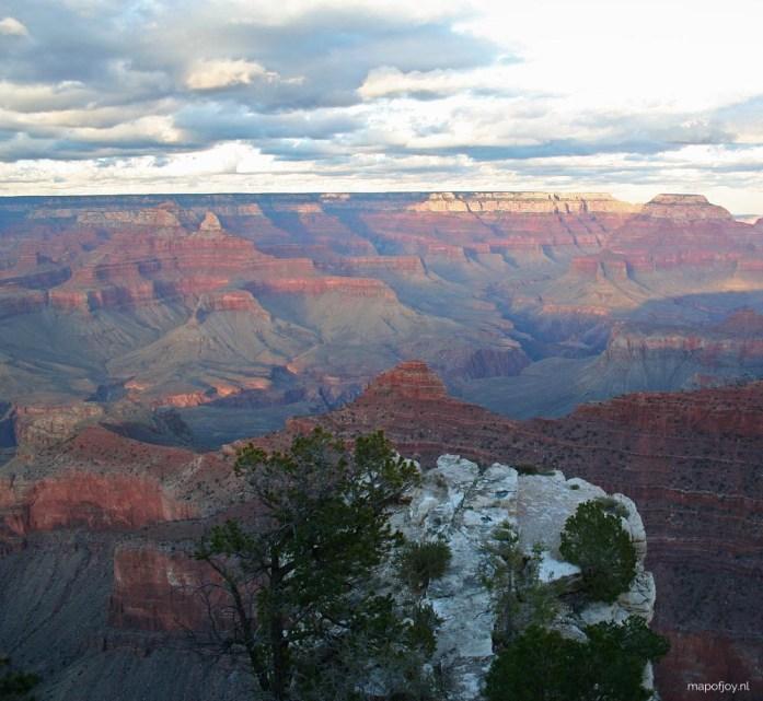Grand Canyon, West-USA - Map of Joy