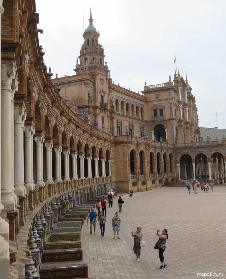 Plaza Espana, Sevilla - Map of Joy