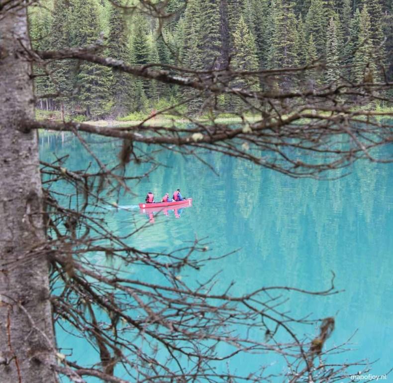 Emerald Lake, Yoho NP, Canada - Map of Joy