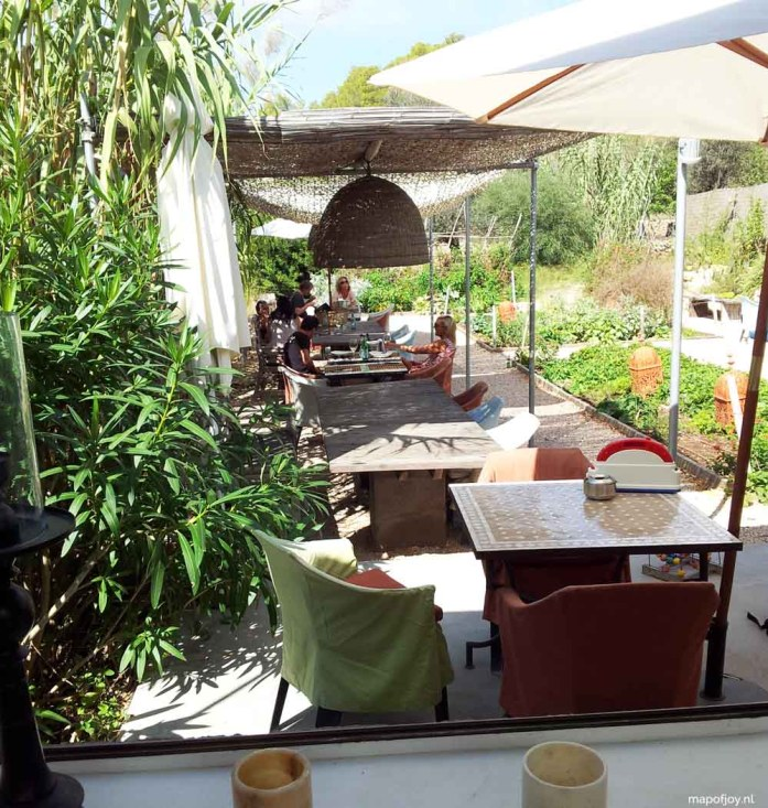 The Giri Café, Ibiza food hotspot - Map of Joy