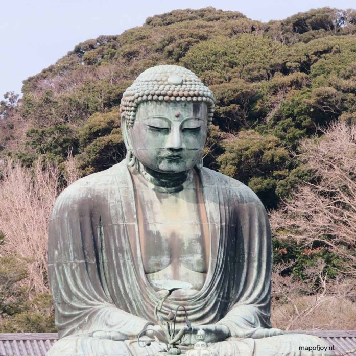 Kamakura, big buddha, Japan - Map of Joy