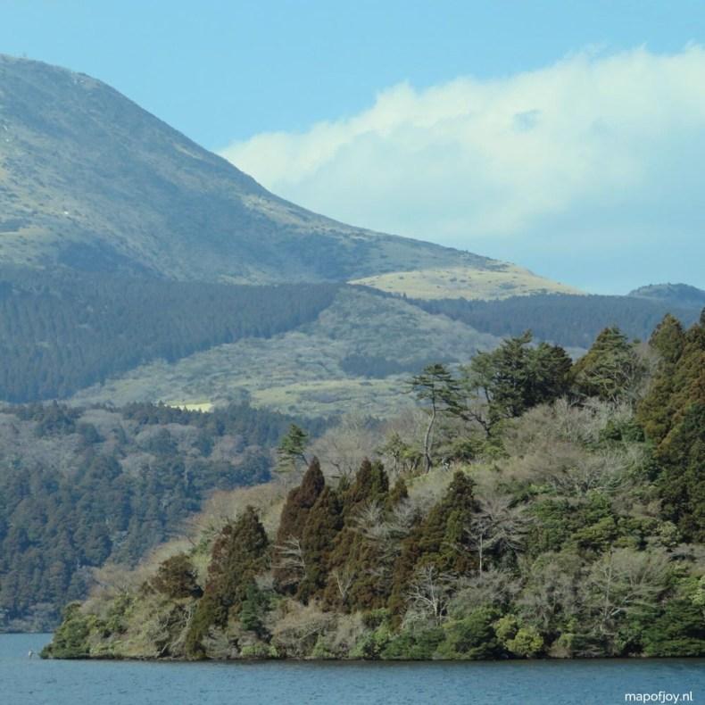 Lake Ashi, Hakone, Japan - Map of Joy