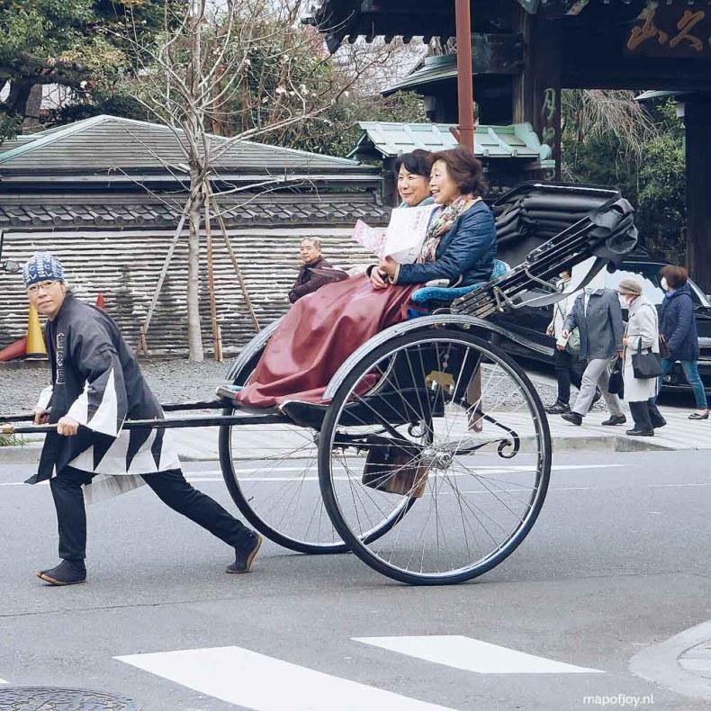 Yanaka, Tokyo, Japan - Map of Joy