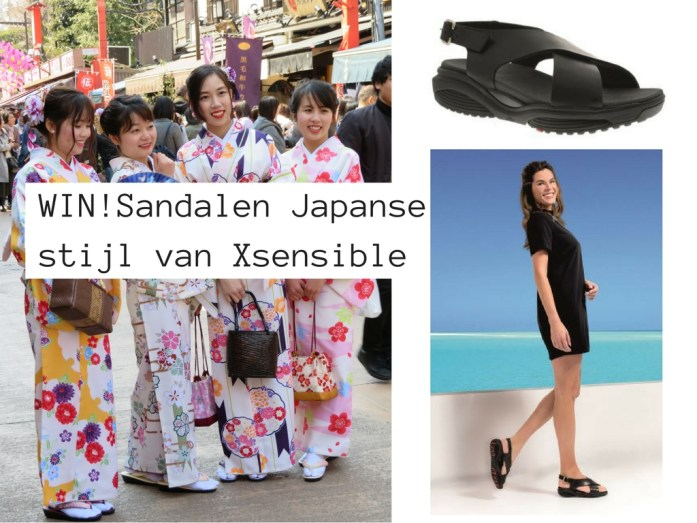 Win Xsensible sandalen - Map of Joy