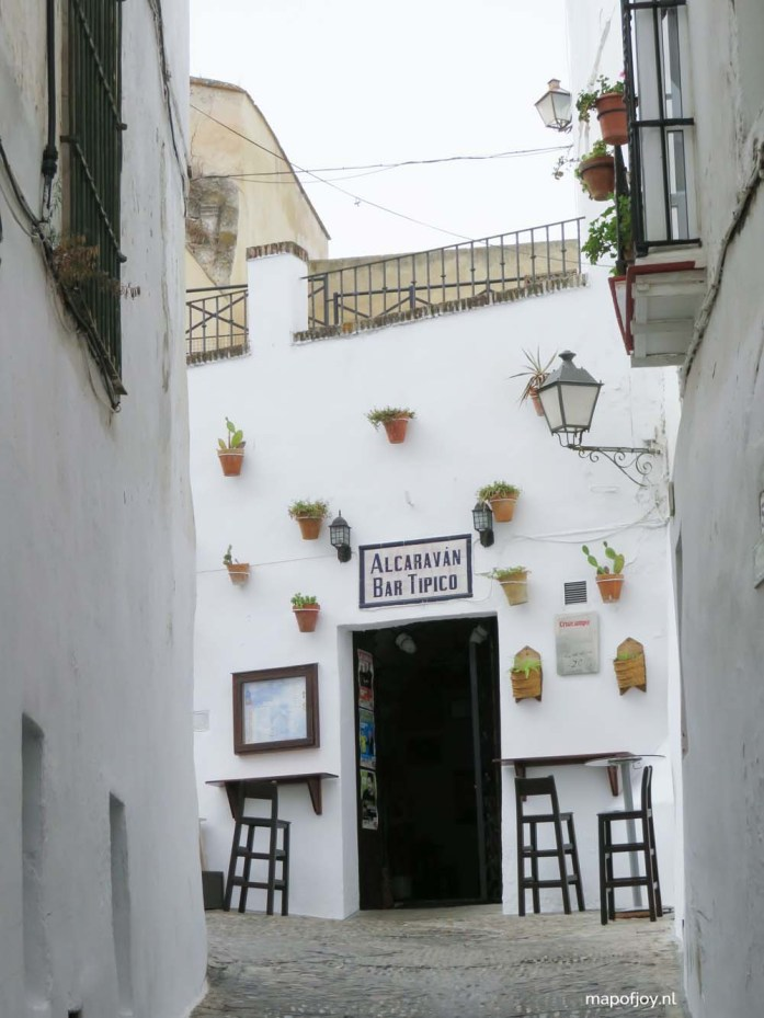 Arcos de la Frontera, Andalusia, Spain - Map of Joy