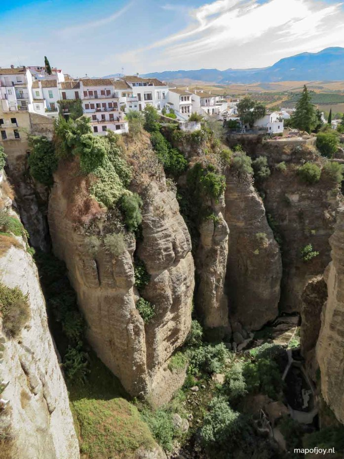 Road trip route Andalusia, Spain, Ronda - Map of Joy