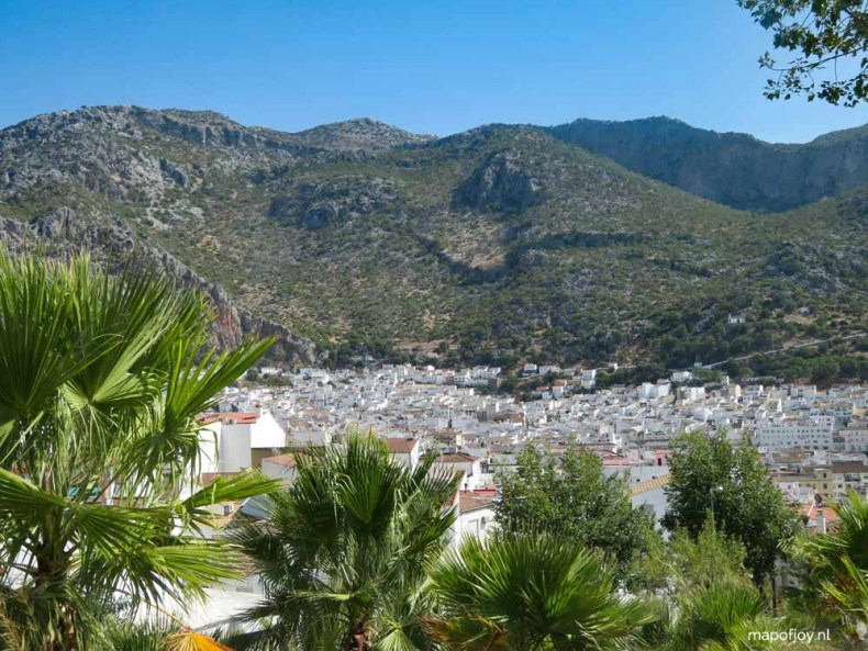 Ubrique, Andalusia, Spain - Map of Joy