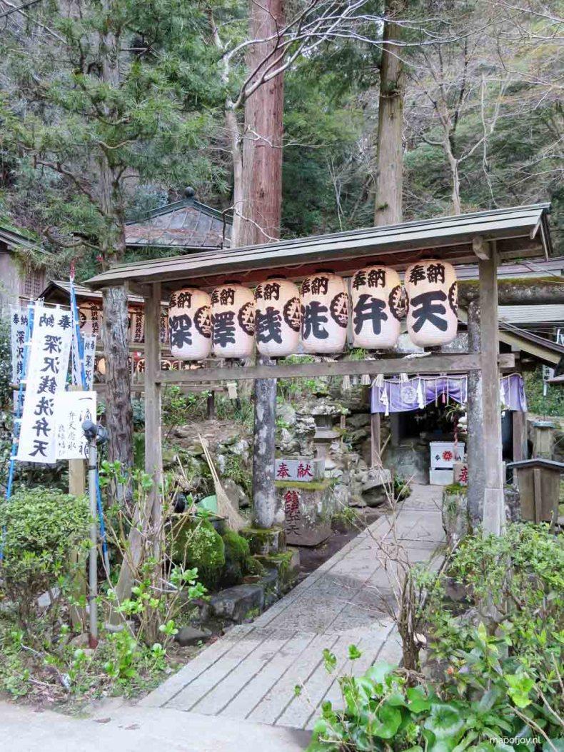 Hakone Tonosawa temple, Japan - Map of Joy