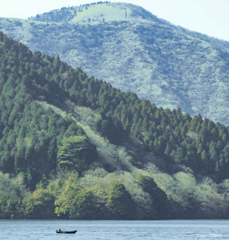 Lake Ashi, Hakone, Japan - Map of Joy