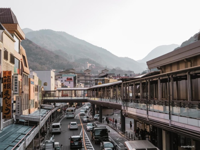 Hakone, Japan - Map of Joy