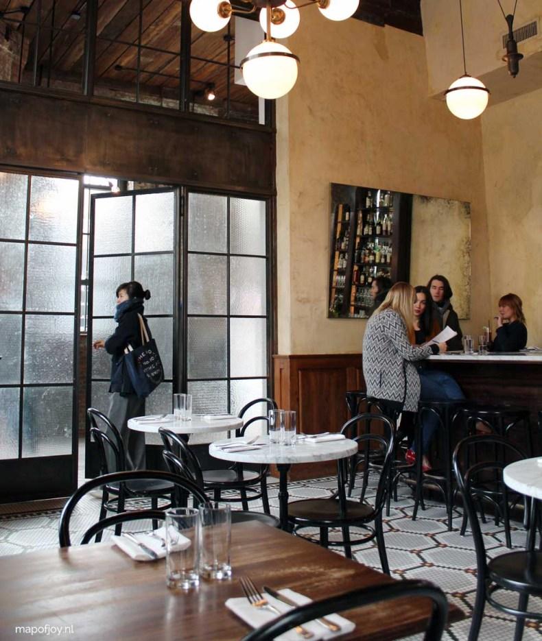 Restaurant Reynard, Williamsburg, New York - Map of JOy