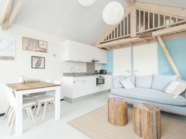 Sea Lodges Bloemendaal, slaapstrandhuisje Nederland - Map of Joy