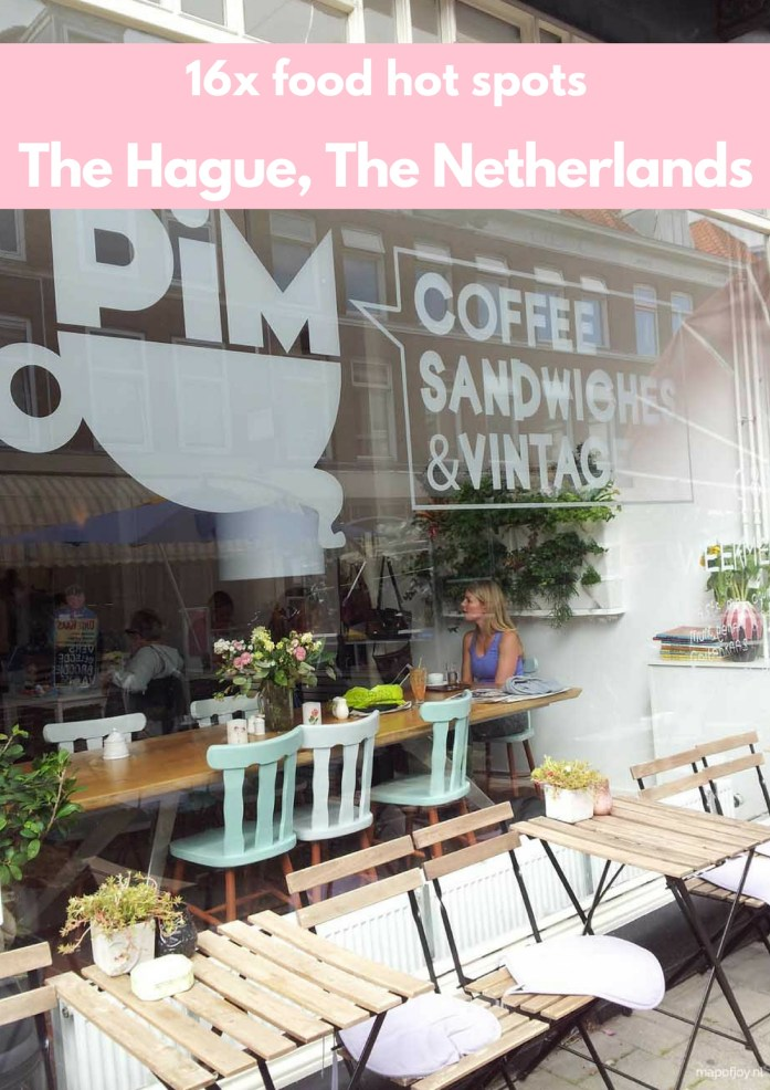 16x food hot spots in The Hague, The Netherlands - Map of Joy