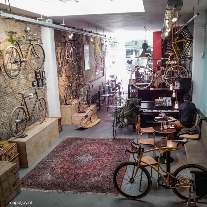 Lola Bikes and Coffee, Den Haag - Map of Joy