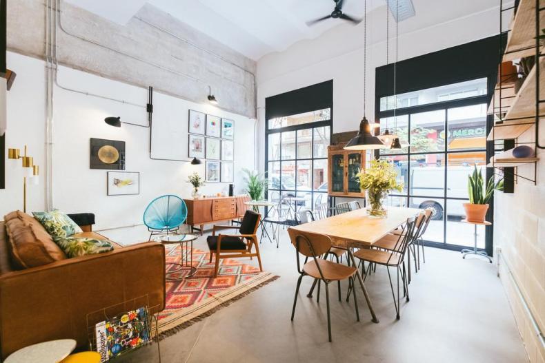 12 bijzondere en betaalbare accommodaties in Barcelona, Magatzem 128