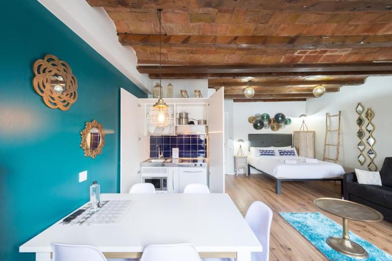 12 bijzondere en betaalbare accommodaties in Barcelona, No 24 Streets Apartments