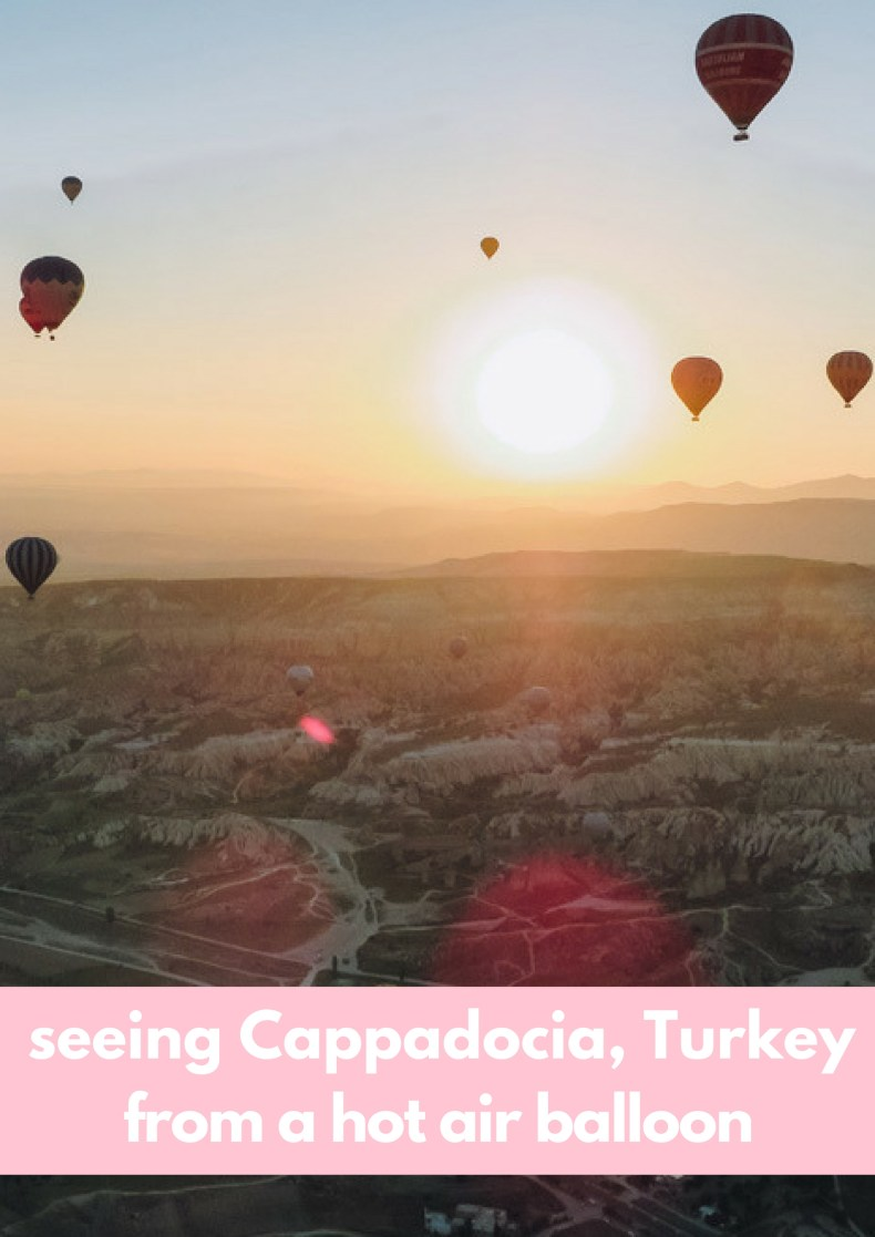 Watching sunrise in Cappadocia, Turkey from a hot air balloon! My experience in text, photo's and a video - Map of Joy