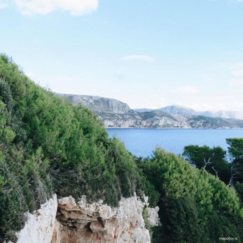 Lokrum, Dubrovnik - Map of Joy