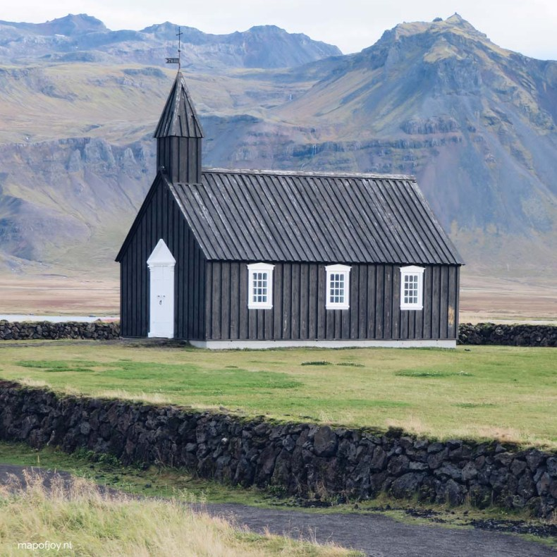 Budakirkja Snaefellsnes, Iceland - Map of Joy