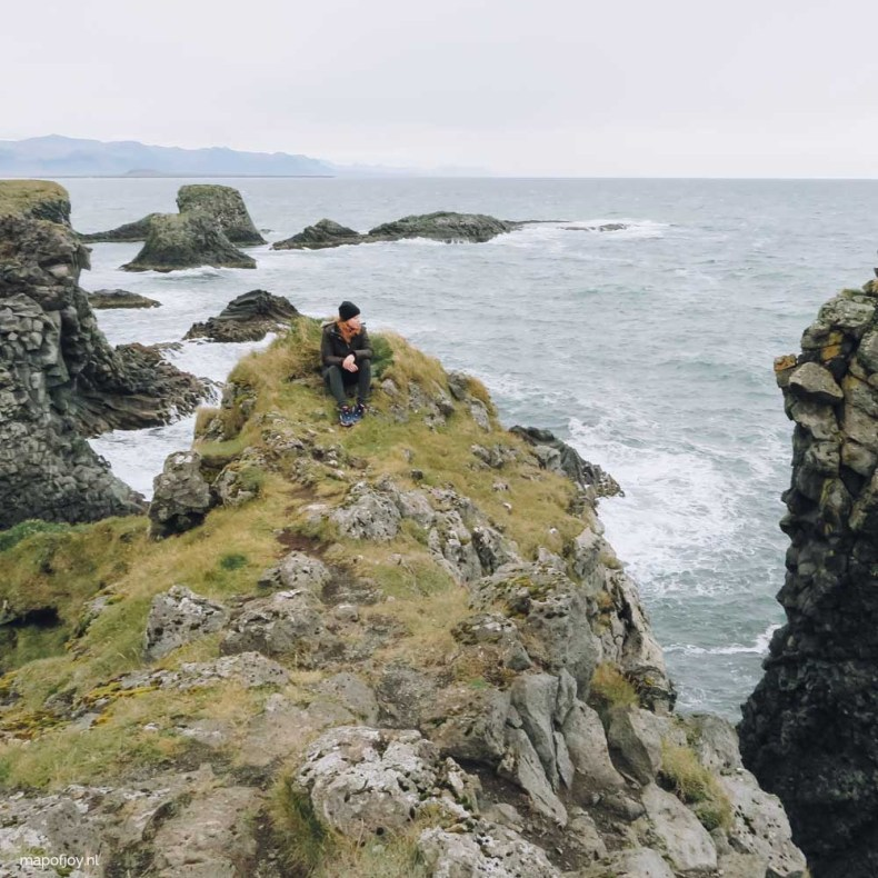 Arnastapi, Snaefellsnes, IJsland - Map of Joy
