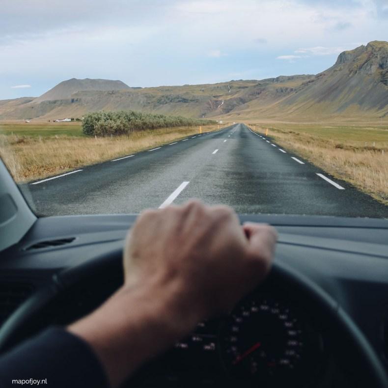 Roadtrip Snaefellsnes, Iceland - Map of Joy