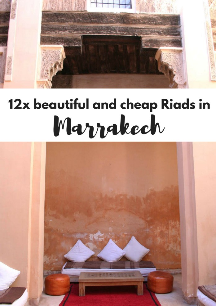 12x beautiful and cheap Riads in Marrakech - Map of Joy