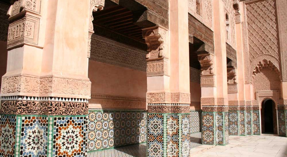 Marrakech, leuke, goedkope Riads om te verblijven - Map of Joy
